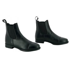 RIDING WORLD SCHOEN SYNTH BLACK BOOTS 40
