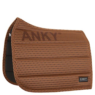 ANKY FOCUS20 SADDLE PAD AIRSTREAM COGNAC