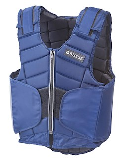 BUSSE BODYPROTECTOR BURGHLEY NAVY XL