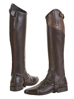 BUSSE CHAPS LARGO BROWN/CROCO XL