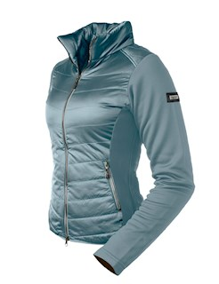 EQ STOCKHOLM ACTIVE PERFORMANCE JACKET STEEL BLUE EXTRA SMALL