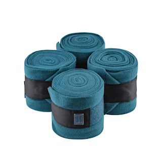 EQUITO BANDAGES TEAL - BLACK