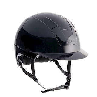 KASK KOOKI BLACK SHINE 2