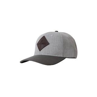 KENTUCKY BASEBALL CAP GRIJS LEDER LOGO