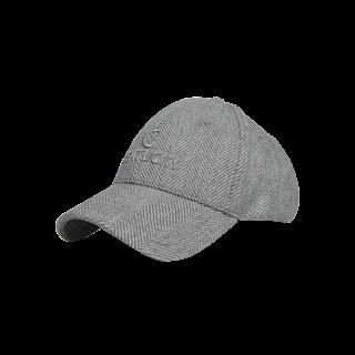 KENTUCKY BASEBALL CAP WOOL GREY