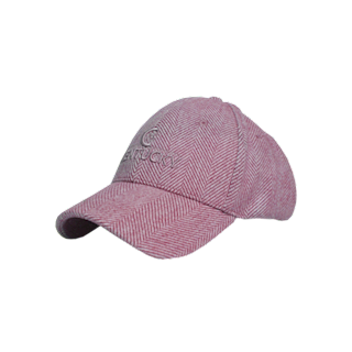 KENTUCKY BASEBALL CAP WOOL LIGHT PINK