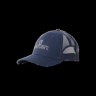 KENTUCKY TRUCKER CAP NAVY GEBORDUURD LOGO
