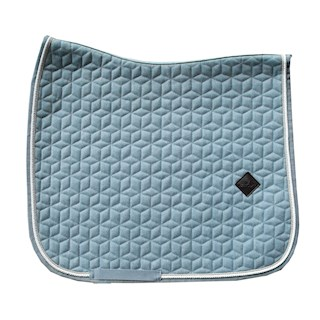 KENTUCKY ZADELDEK WOOL LIGHT BLUE DR