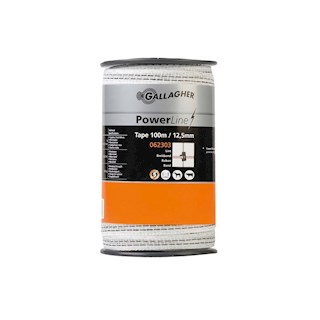 POWERLINE LINT 12.5MM WIT (100M)