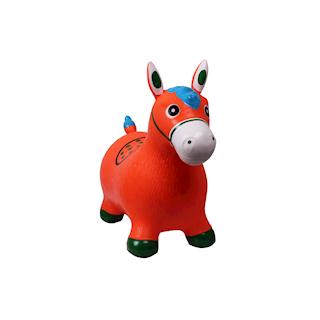 QHP JUMPY HORSE ORANJE