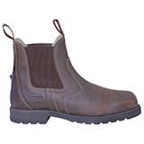 Euroriding-schoenen-stalen-tip-bruin