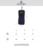 Kentucky-bridle-bag-size-chart